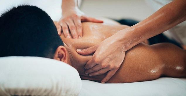 Польза от массажера спины кружевное нижнее белье бдсм
